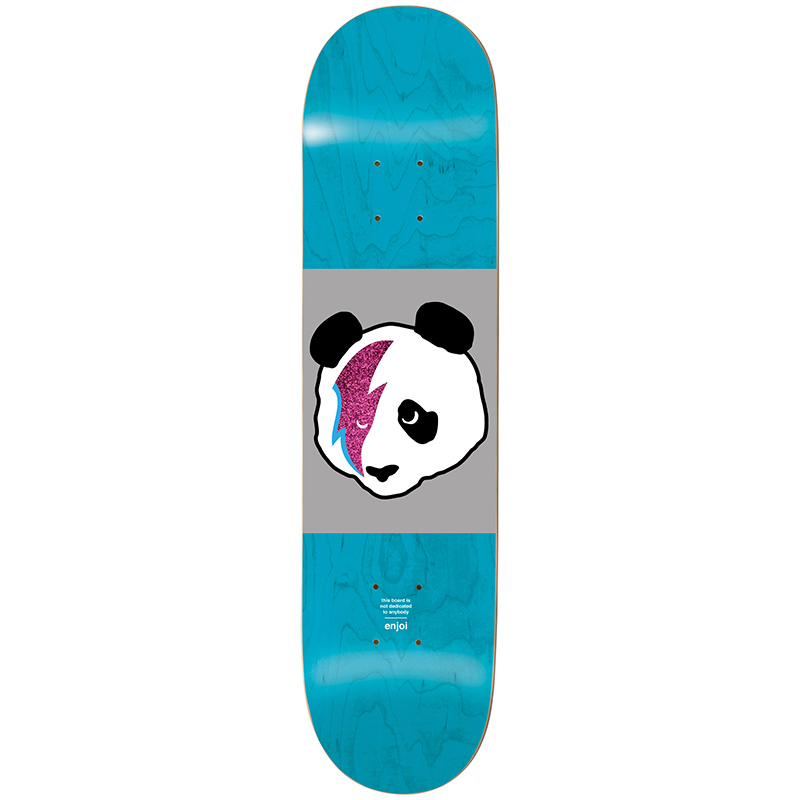Enjoi Stardust Panda R7 Blue Skateboard Deck 8.0