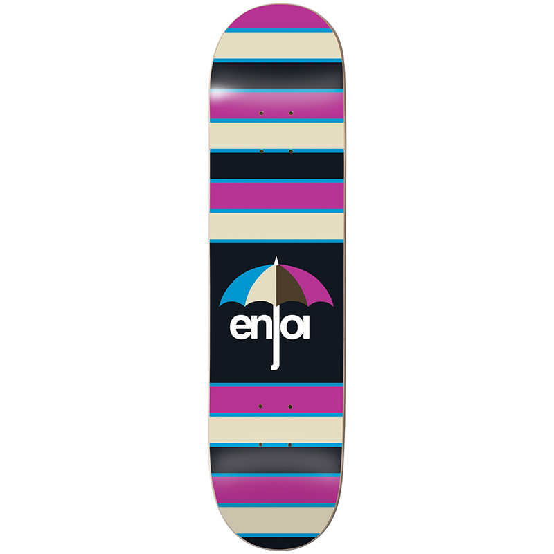 enjoi Stripes Hybrid Skateboard Deck 8.0