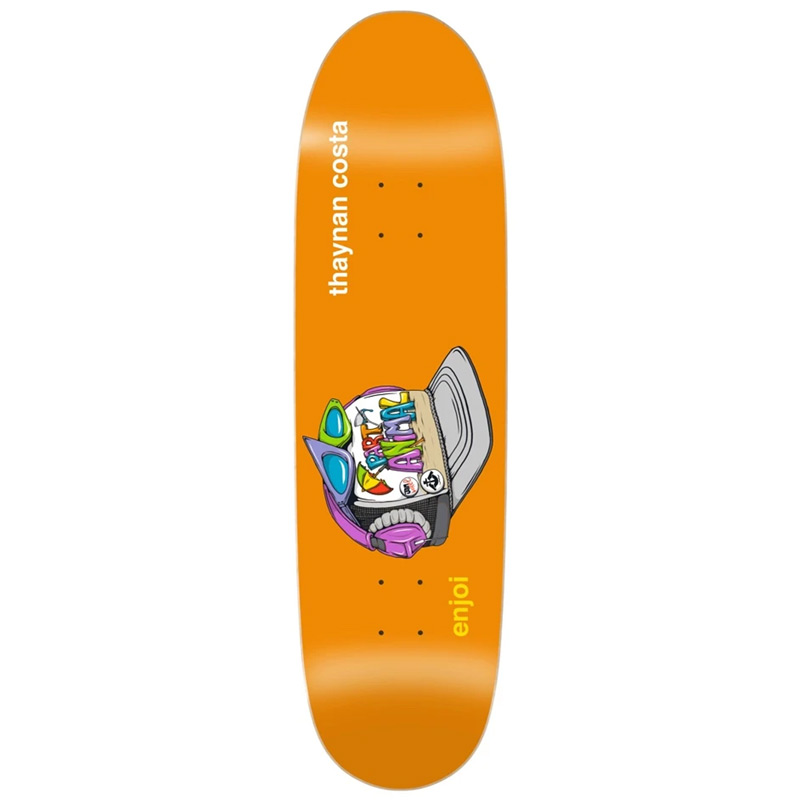 Enjoi Thaynan Costa Snap Back R7 Skateboard Deck 8.75