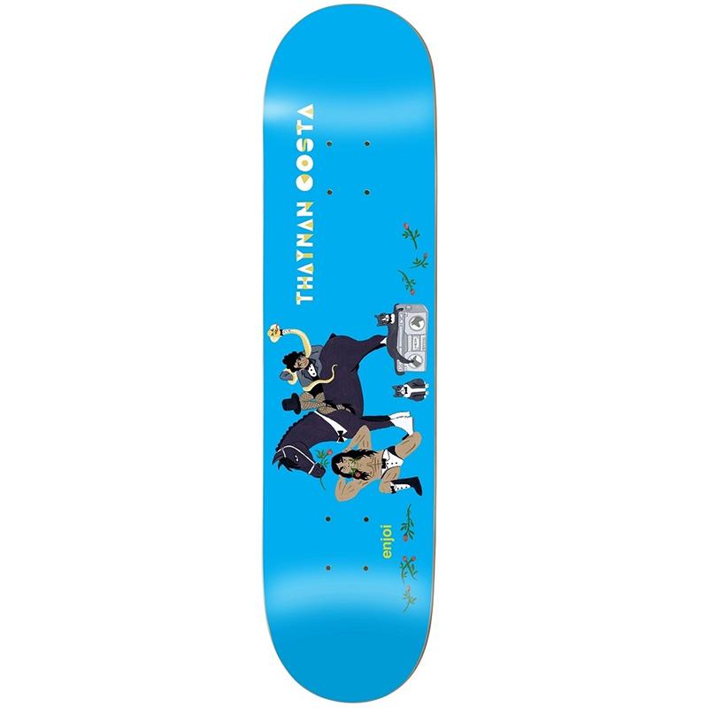 Enjoi Thaynan Over Board Impact Light Skateboard Deck 8.0