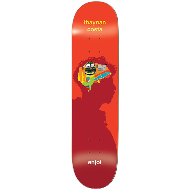 enjoi Thynan Brain Waves R7 Skateboard Deck 8.375