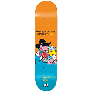 enjoi Thynan My Little Pony The Thrid Impact Light Skateboard Deck 8.25