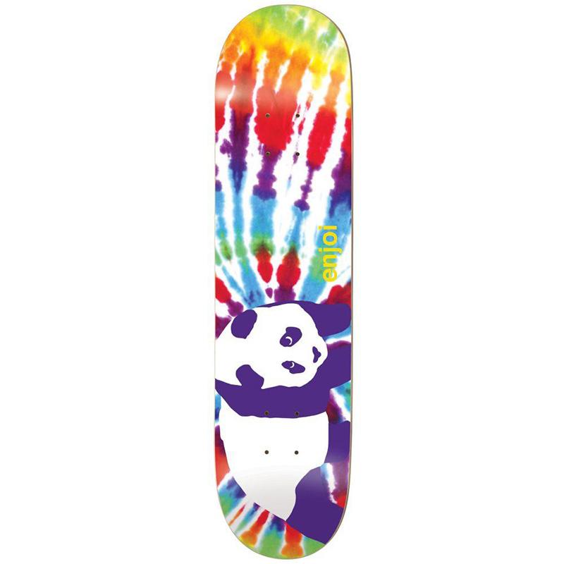 enjoi Tie Dye V6 R7 Skateboard Deck Multi 8.125