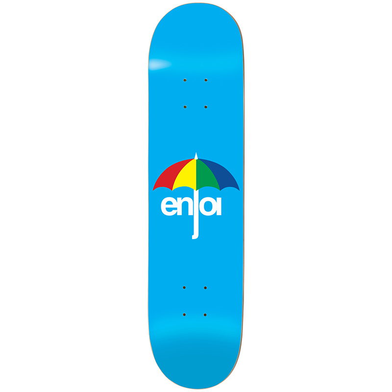 Enjoi Umbrella Blue HYB Skateboard Deck 8.25