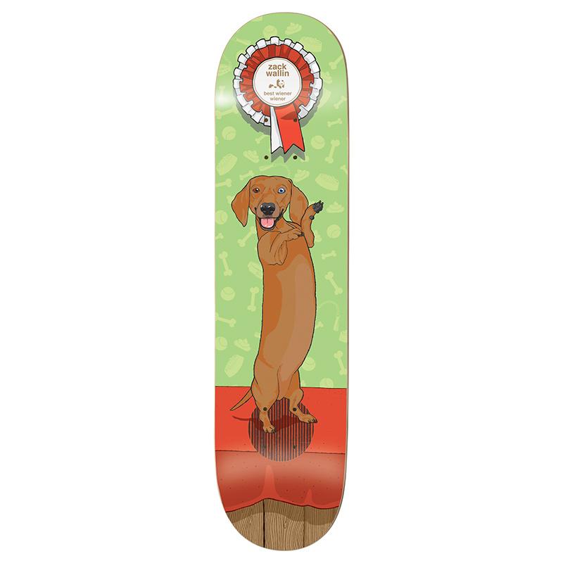 Enjoi Wallin Best in Show Impact Plus Skateboard Deck 8.38