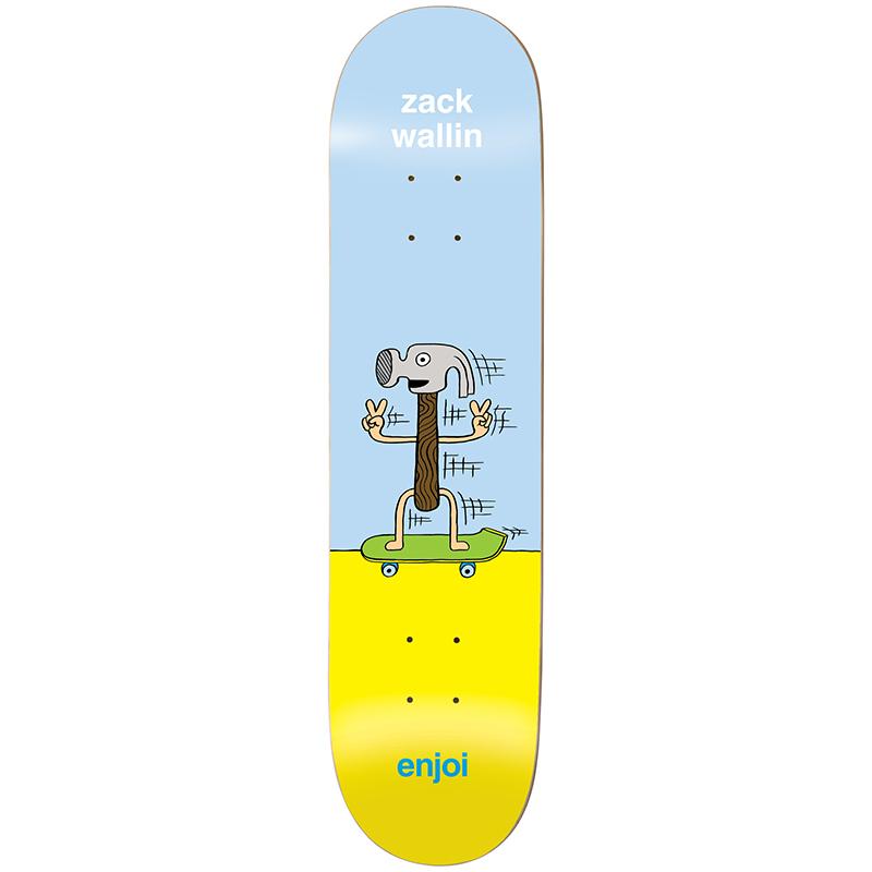 enjoi Wallin Dingleballdom R7 Skateboard Deck 8.0
