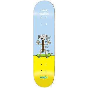 enjoi Wallin Dingleballdom R7 Skateboard Deck 8.0