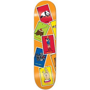 enjoi Wallin La Loteria R7 Skateboard Deck 8.375