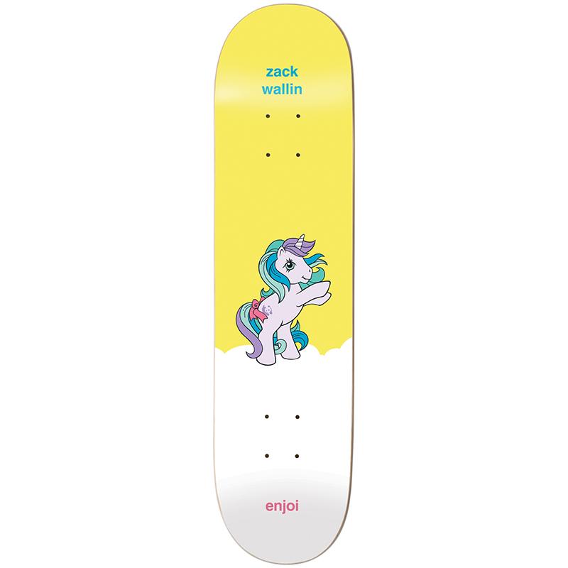 Enjoi Wallin My Little Pony Pro R7 Wallin Skateboard Deck 8.0