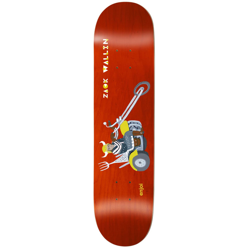 Enjoi Wallin Over Board R7 Skateboard Deck 8.25