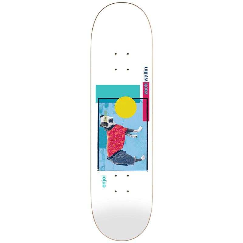Enjoi Wallin Skart R7 Skateboard Deck 8.25