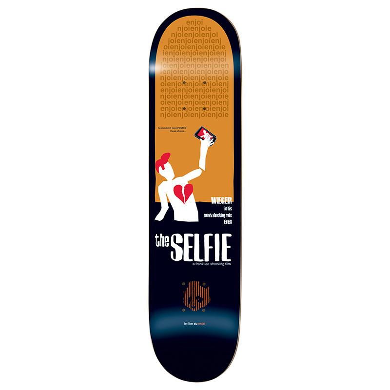 Enjoi Weiger Movie Poster Impact Plus Skateboard Deck 8.38