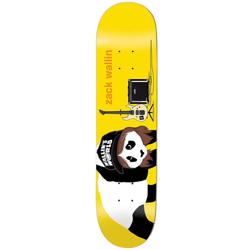 Enjoi Zack Wallin Alter Ego R7 Skateboard Deck 8.25