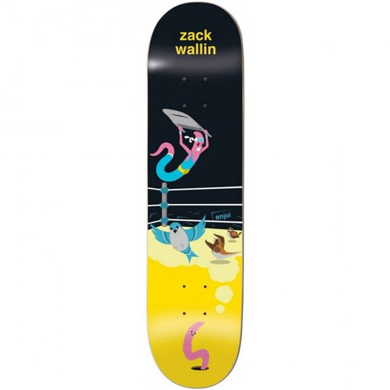 Enjoi Zack Wallin Big Dreams Impact Light Skateboard Deck 8.5