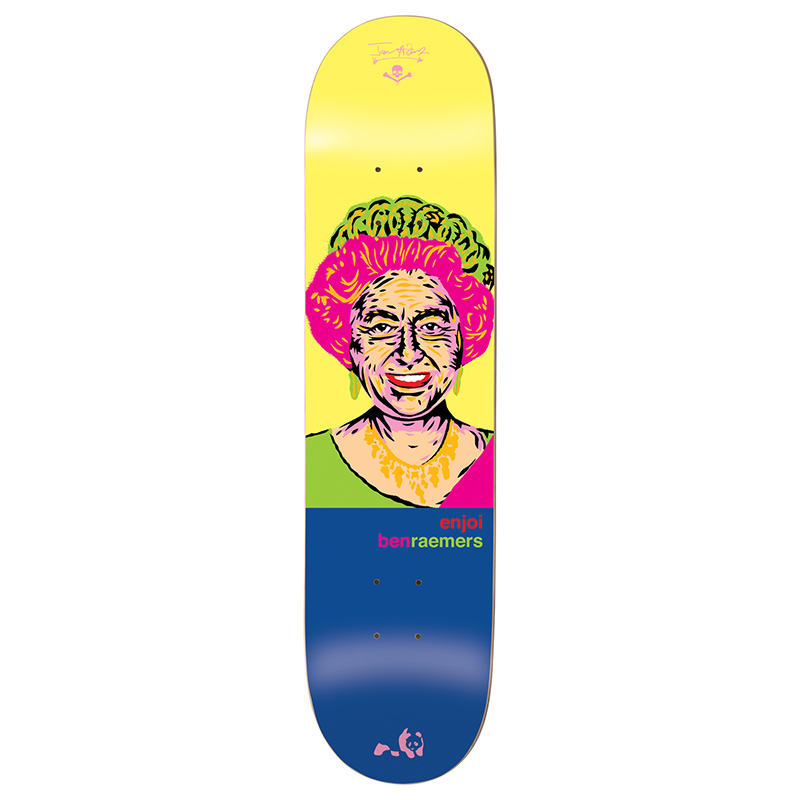 Enjoi Raemers Presidents R7 Skateboard Deck 8.25