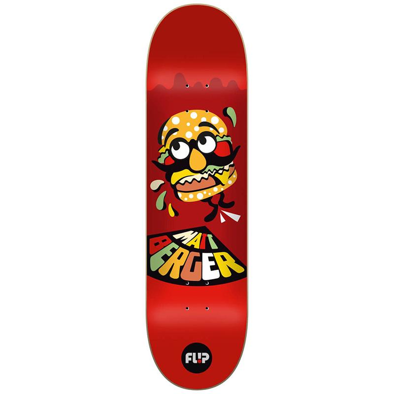 Flip Berger Block Skateboard Deck 8.25
