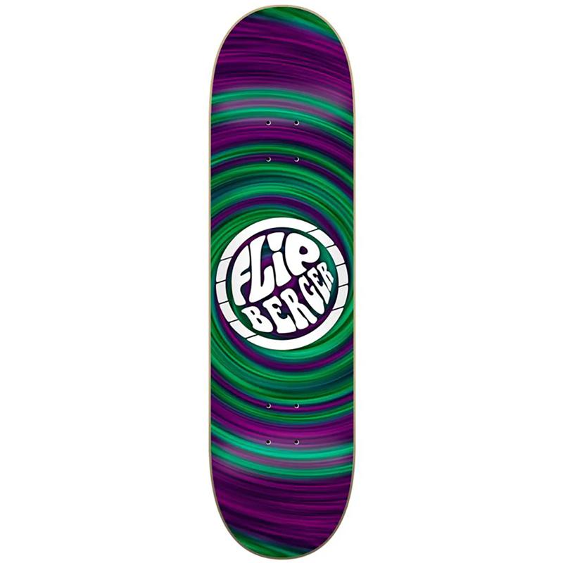 Flip Berger Hipnotic Skateboard Deck 8.04