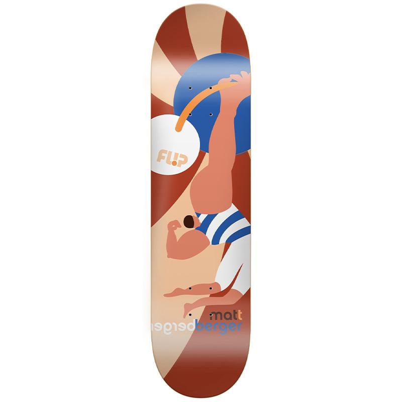 Flip Berger Kaja Skateboard Deck 8.25