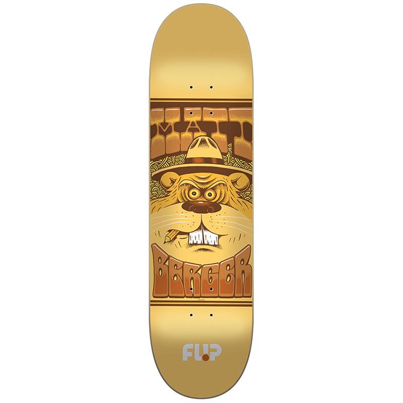Flip Berger Mercenaries Series Pro Skateboard Deck