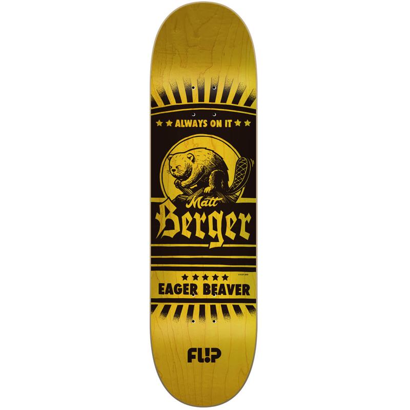 Flip Berger Two Tone Skateboard Deck 8.0