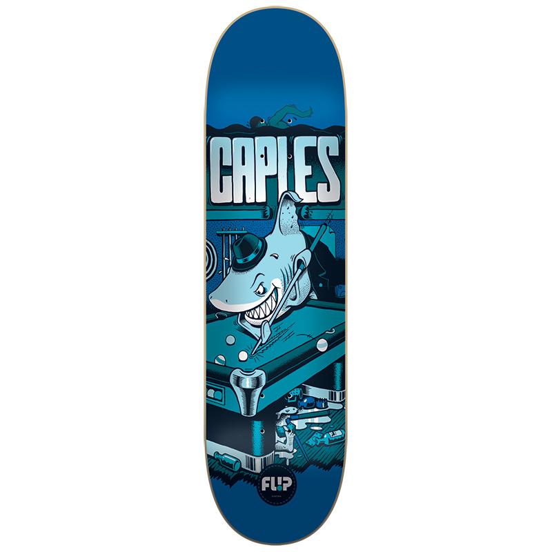 Flip Caples Comix Skateboard Deck  8.25