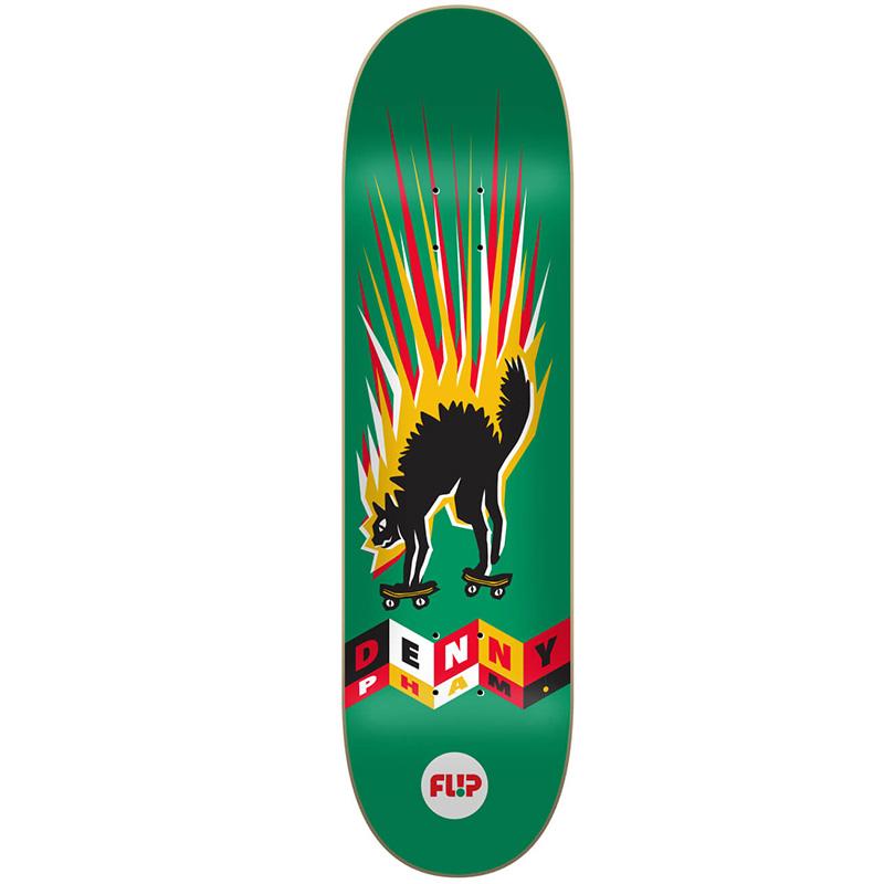 Flip Denny Tin Toys Skateboard Deck 8.25