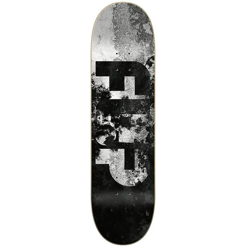 Flip Distortion Skateboard Deck Black 8.25