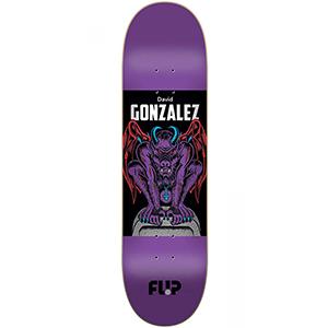 Flip Gargoyle David Gonzalez Skateboard Deck 8.0