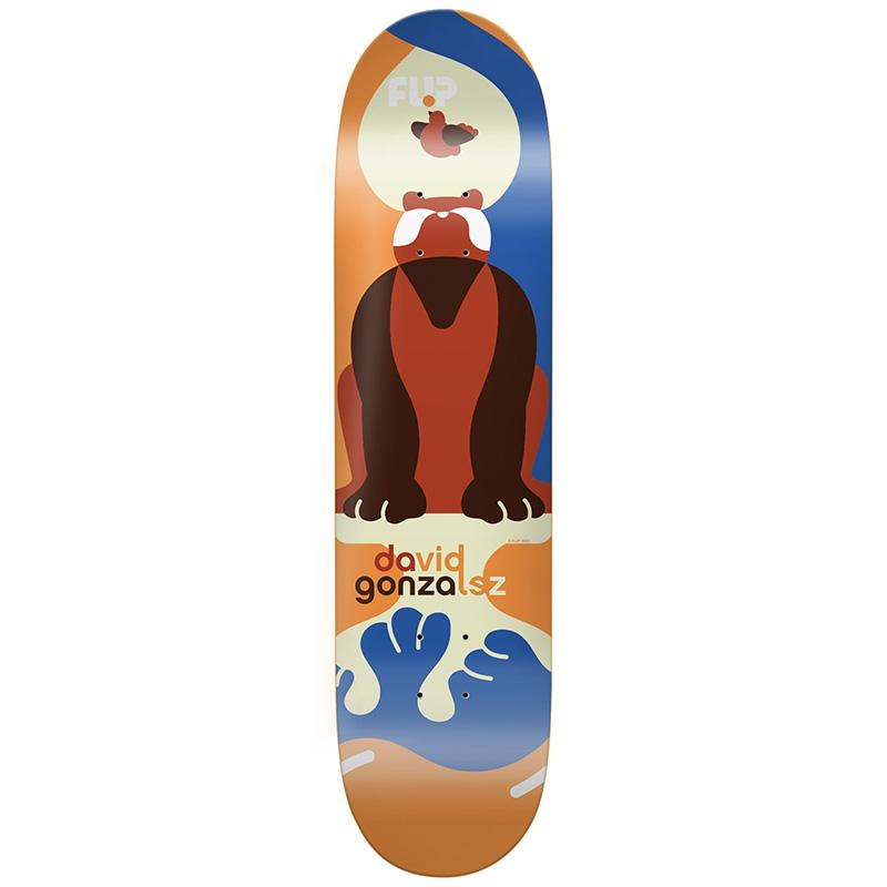 Flip Gonzales Kaja Skateboard Deck 8.0