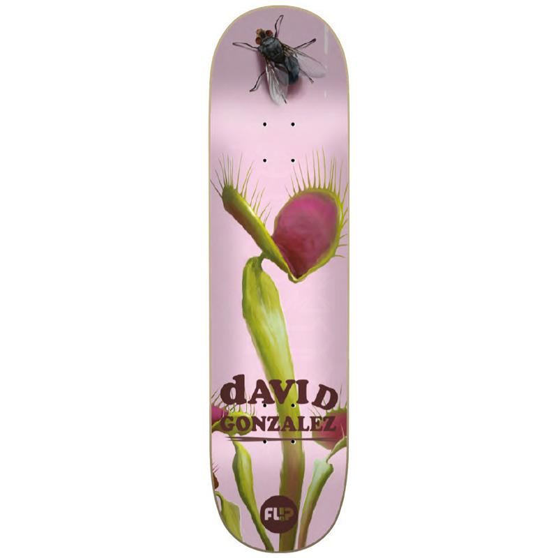 Flip Gonzalez Flower Power Skateboard Deck 8.0