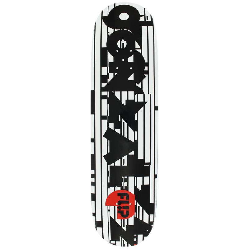 Flip Gonzalez Glitch Skateboard Deck 8.0