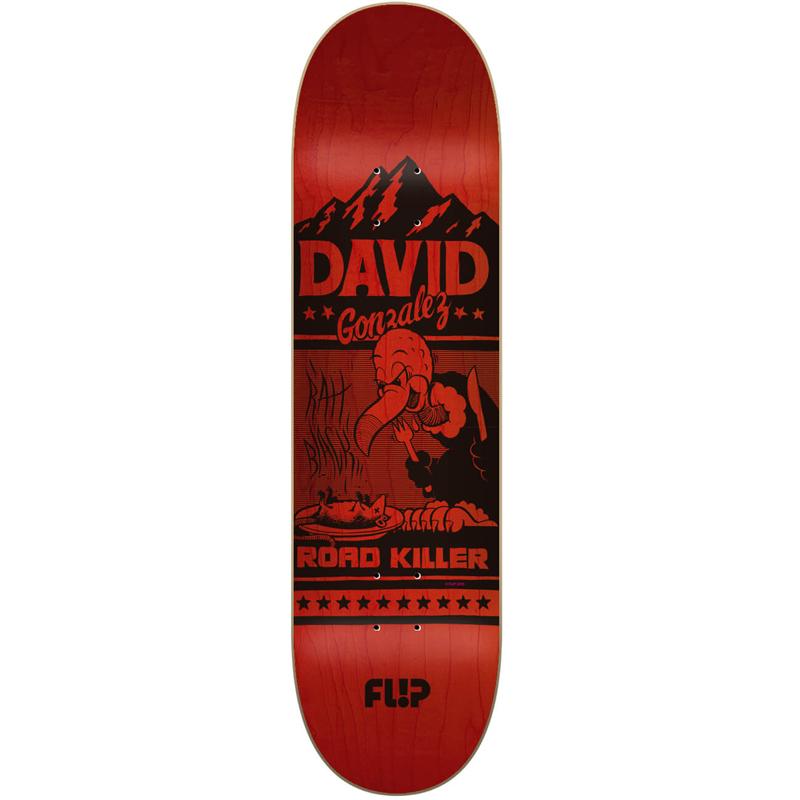 Flip Gonzalez Two Tone Skateboard Deck 8.0