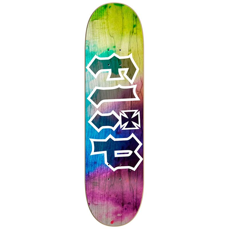 Flip HKD Tie Dye Skateboard Deck 8.0