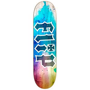 Flip HKD Tie Dye Skateboard Deck 8.25