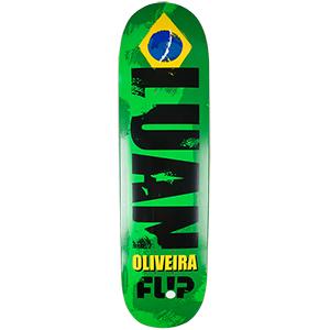 Flip International Oliveira Skateboard Deck 8.13