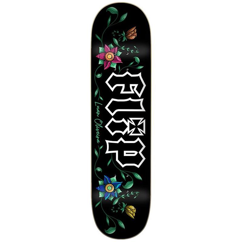 Flip Luan Garden Skateboard Deck Black 8.13