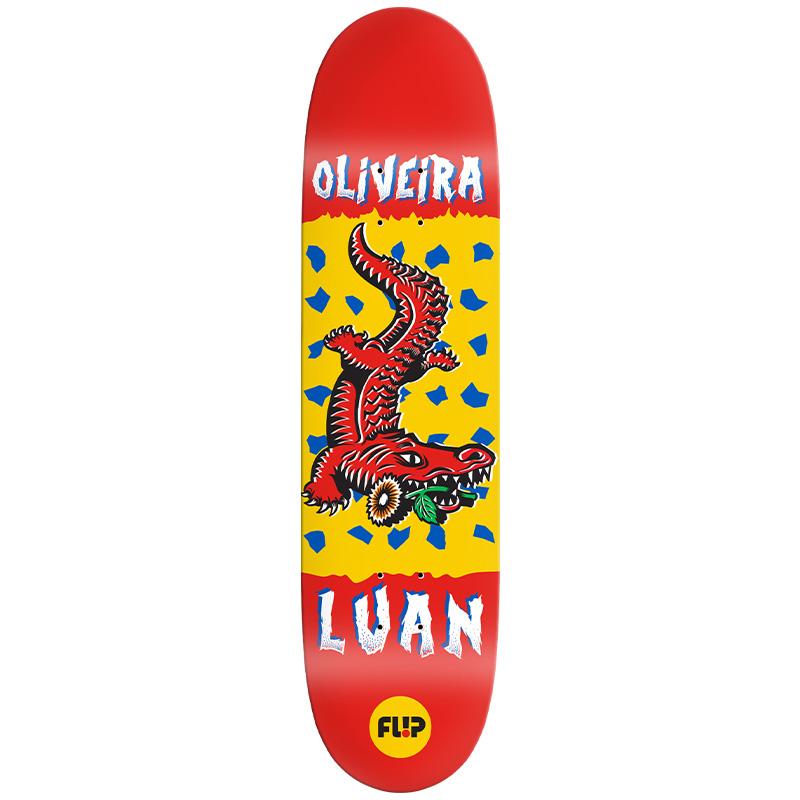 Flip Luan Tin Toys Skateboard Deck 8.13