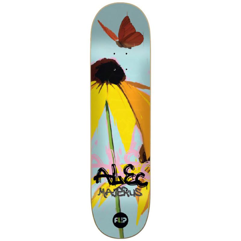 Flip Majerus Flower Power Skateboard Deck 8.38