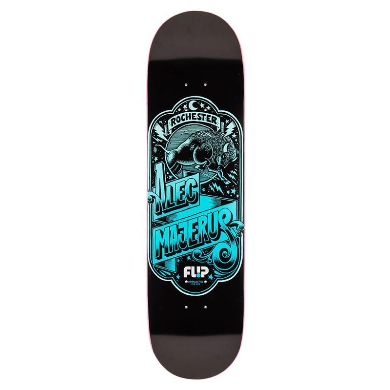 Flip Majerus Iconoclastics Series Skateboard Deck 8.25