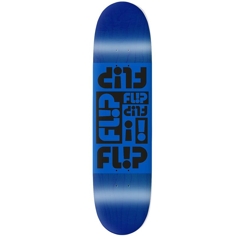Flip Multi Odyssey Skateboard Deck Blue 8.13