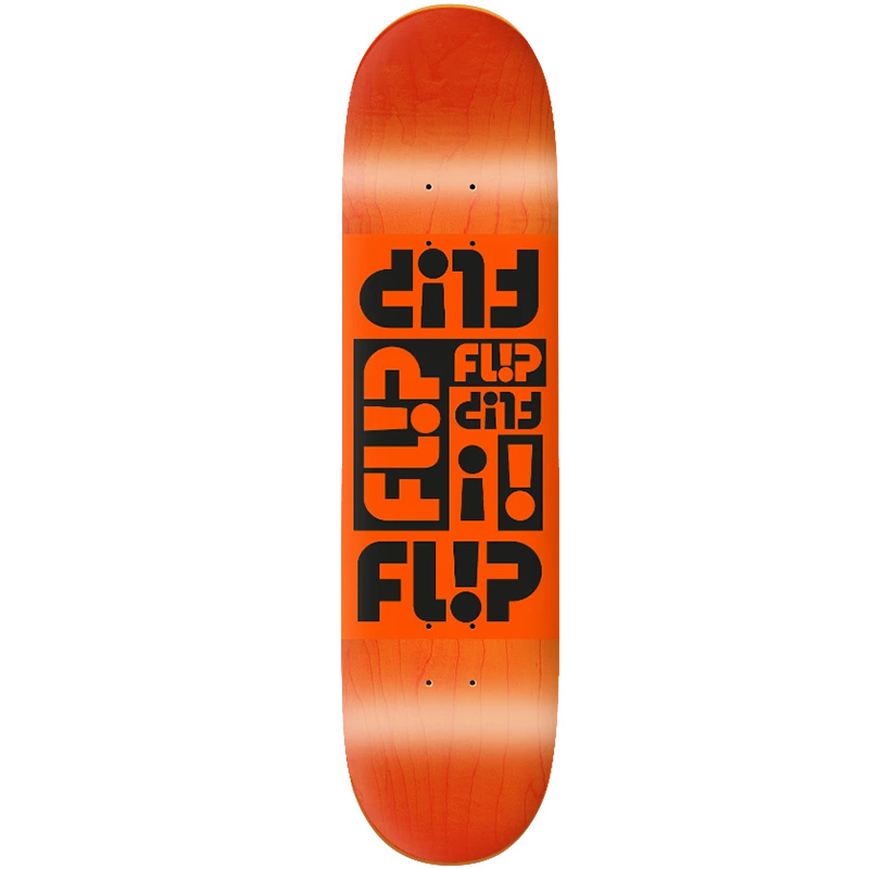 Flip Multi Odyssey Skateboard Deck Orange 8.38
