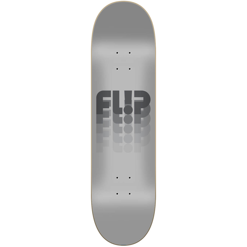 Flip Odyssey Changed Skateboard Deck Grey 8.25
