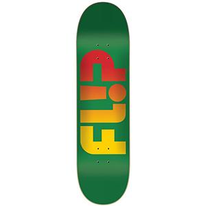 Flip Odyssey Faded Skateboard Deck Green 7.81
