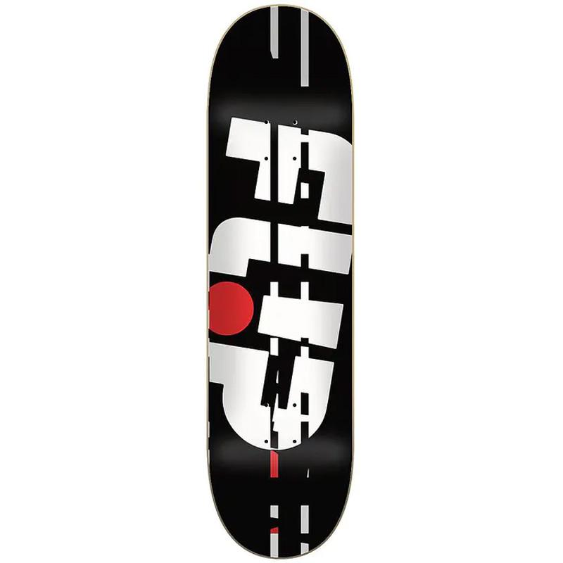 Flip Odyssey Glitch Skateboard Deck Black 8.38