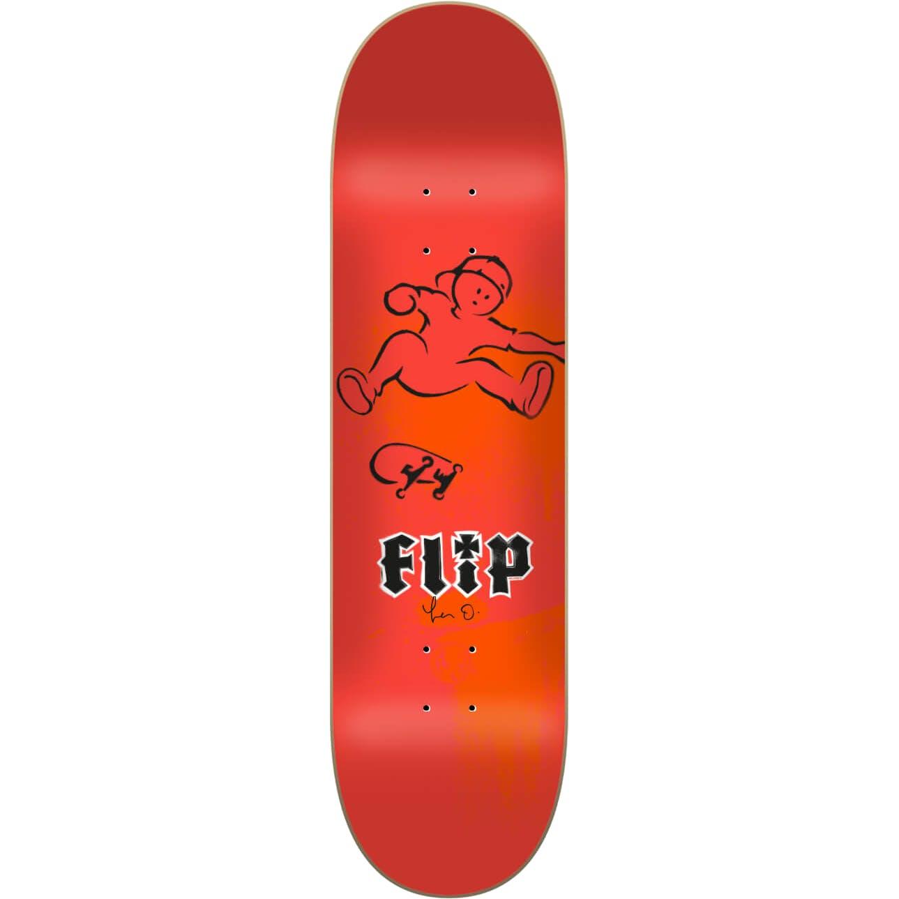 Flip Oliveira Doughboy Skateboard Deck 8.13