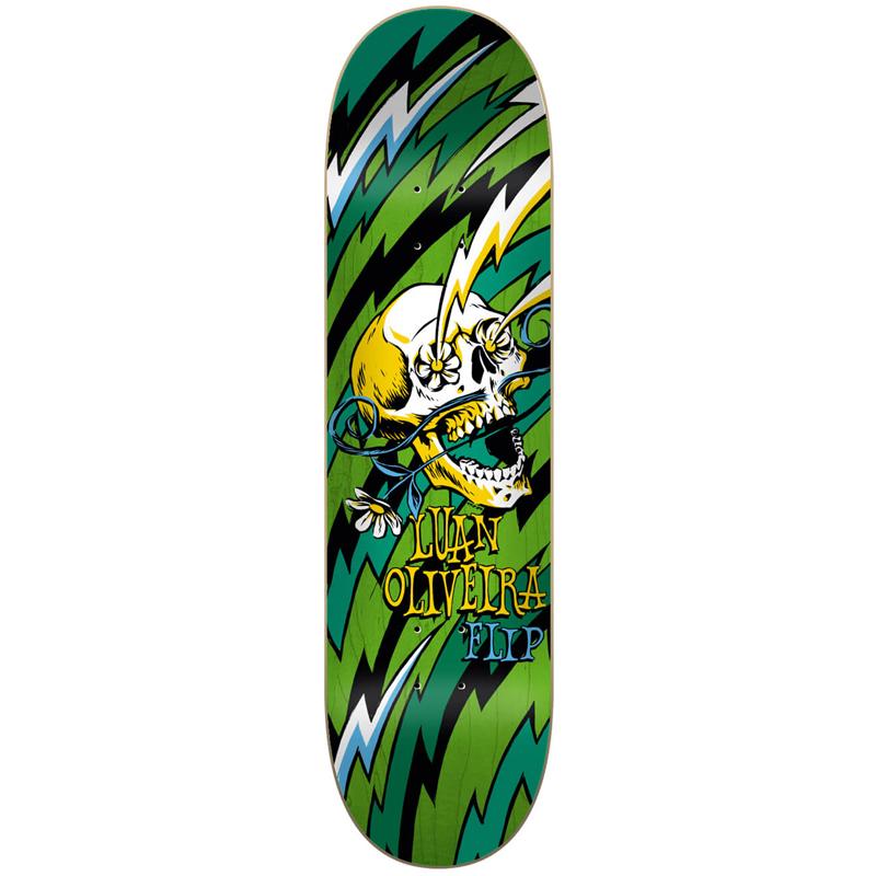 Flip Oliviera Blast Skateboard Deck 8.13