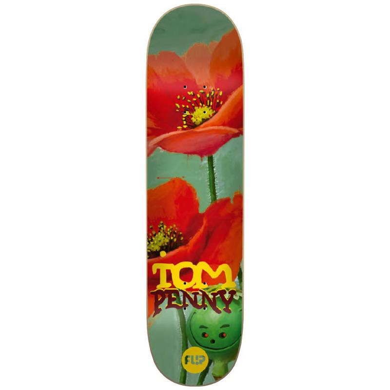 Flip Penny Flower Power Skateboard Deck 8.25