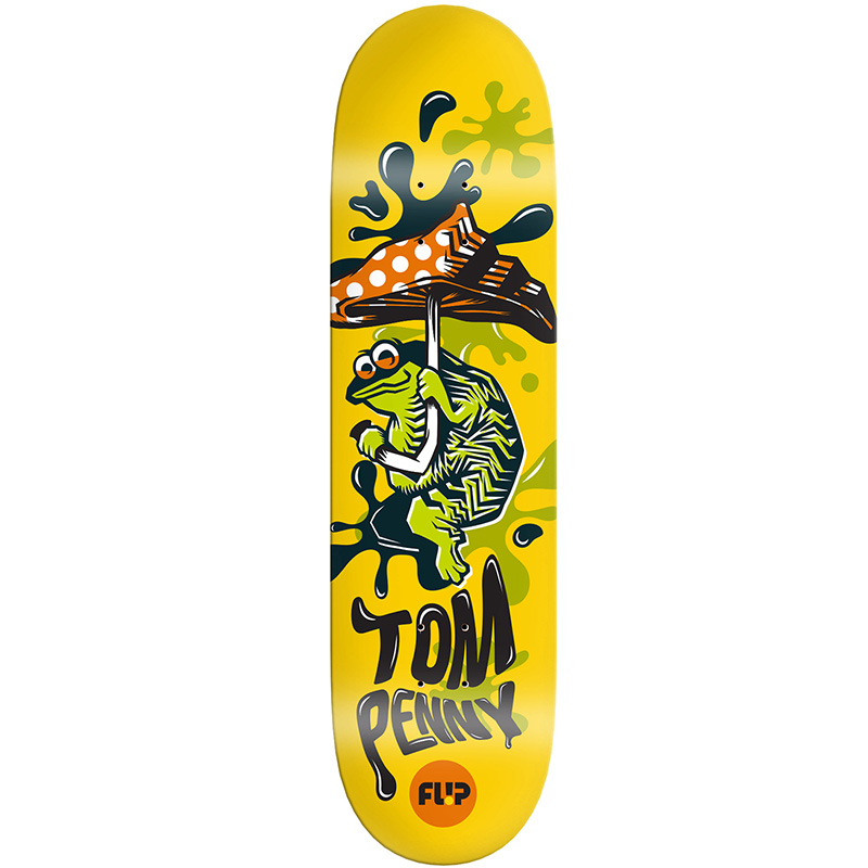 Flip Penny Tin Toys Skateboard Deck 8.38