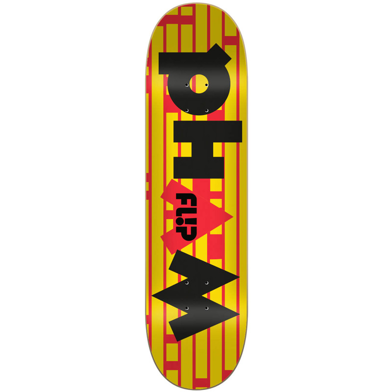 Flip Pham Glitch Skateboard Deck 8.3