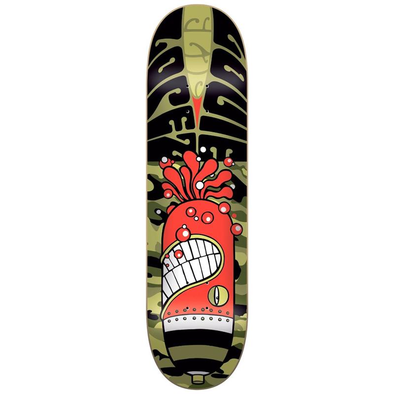 Flip Psyche II Louie Lopez Skateboard Deck 8.25